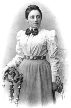 Emmy Noether, mathematical theorist and teacher.