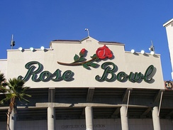 The Rose Bowl hosted the track cycling events for the 1932 Summer Olympics