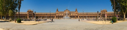 Plaza de España was the filming location for the Naboo palace.
