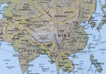 China and India have the two largest populations in the world, and are expected to grow rapidly economically.