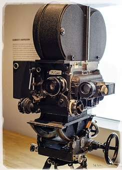 Kubrick's camera, possibly used in Barry Lyndon
