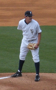 A pitcher for the Staten Island Yankees