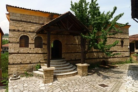 The Jewish synagogue. Veria had a significant Jewish community until World War II