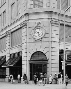 Rich's 1924 store, the anchor of the South Downtown shopping district until its closure in 1991