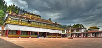 Rumtek Monastery in Sikkim was built under the direction of Changchub Dorje, 12th Karmapa Lama in the mid-1700s.[348]