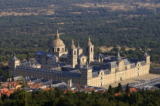 Royal Monastery of San Lorenzo de El Escorial, Spain. Built in 1563–1584.