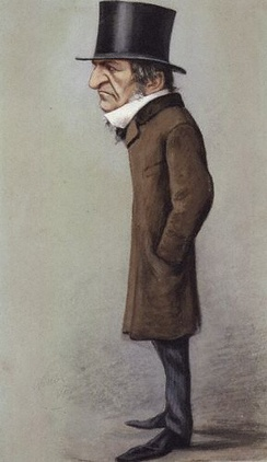 Gladstone as caricatured by Vanity Fair in 1869.