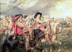 Cavaliers after the Battle of Naseby, 1645