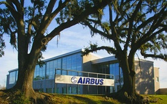 Airbus Mobile Engineering Center at the Brookley Aeroplex in Mobile.
