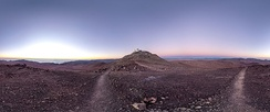 Paranal Observatory on Cerro Paranal in the Atacama Desert is one of the driest places on Earth.[4]