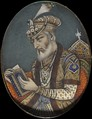 Late 17th century Mughal Emperor Aurangzeb wearing a Turban and its ornaments.