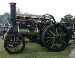 Aveling & Porter traction engine 'Avellana'