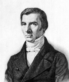 Frédéric Bastiat, one of the most popular political writers of the time, who took part in the Revolution