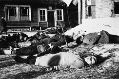 Mass murder of Soviet civilians near Minsk, 1943