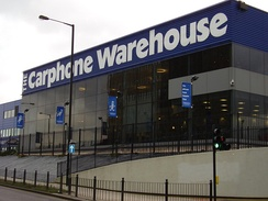 Carphone Warehouse Support Centre in Acton, London