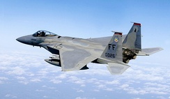F-15 Eagle of the 71st Fighter Squadron