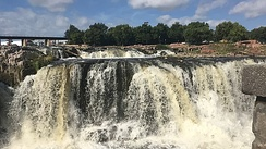 Falls Park on the Big Sioux River