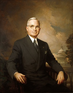 Harry S. Truman as Full Terms 33rd President of the United States