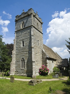 A parish church in Gloucestershire, England