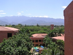 University Icesi and farallones of Cali.