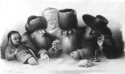 Jewish merchants in 19th-century Warsaw