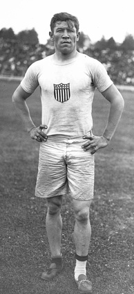 American athlete Jim Thorpe lost his Olympic medals having taken expense money for playing baseball, violating Olympic amateurism rules, before the 1912 Games.