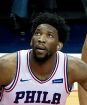 Joel Embiid was selected 3rd overall by the Philadelphia 76ers.