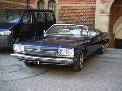 1973 convertible owned by the Royal house of Denmark, used by Henrik, Prince Consort