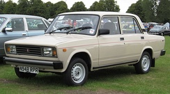 Over two million VAZ-2105s were produced from 1980 to 2010.