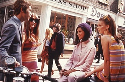 "Carnaby Street in ""Swinging London"" circa 1966"