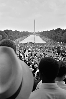 The March on Washington for Jobs and Freedom (1963).