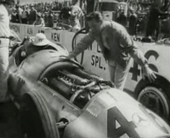 The Mercedes-Benz W154 entered by Don Lee at the 1947 Indianapolis 500 with Duke Nalon as driver
