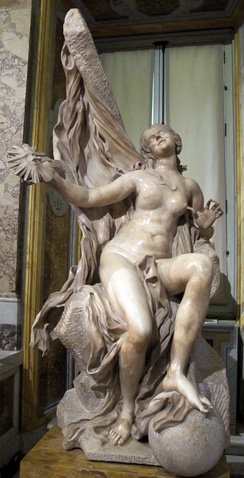Truth Unveiled by Time, Galleria Borghese, Rome, 1645-1652