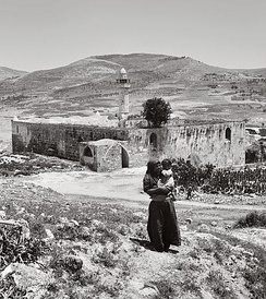 Nabi Yahya Mosque, the traditional burial site in Sebastia, near Nablus, the West Bank, the Levant