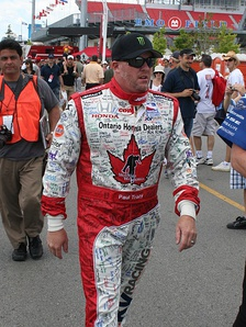 Tracy at the 2009 Honda Indy Toronto
