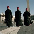Bishops leaving St. Peter's