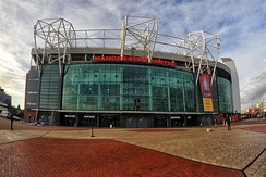 Old Trafford home of Manchester United.