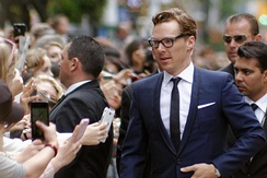 At the premiere of The Imitation Game at TIFF, September 2014