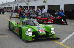 The Krohn Racing Ligier JS P2 at Rolex 24 Hours of Daytona