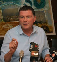 Yuli Edelstein, one of the Soviet Union's most prominent refuseniks, who has served as Speaker of the Knesset (Israel's parliament) from 2013 to 2020.