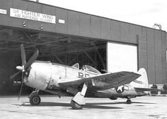 F-47 Thunderbolt – 128th Fighter Squadron – Marietta Army Airfield, 1946