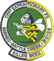 131st EFS Operation Allied Force patch, 1999