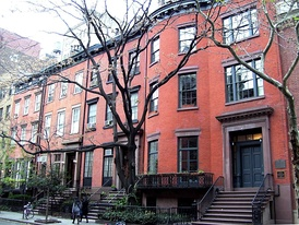 Row of townhouses on 17–23 West 16th Street