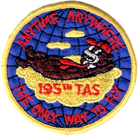 Legacy 195th Tactical Airlift Squadron Emblem