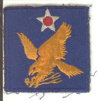 Patch of Second Air Force during World War II