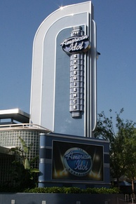The American Idol Experience marquee sign