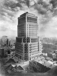 The Bell Telephone Building in Montreal was once the head office of Bell Canada.