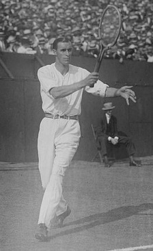 Tennis champion Bill Tilden, inducted in 2004, was born and raised in the Philadelphia area.