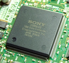 The GPU CXD8561CQ (SCPH-9000 version)
