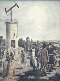 19th-century demonstration of the semaphore
